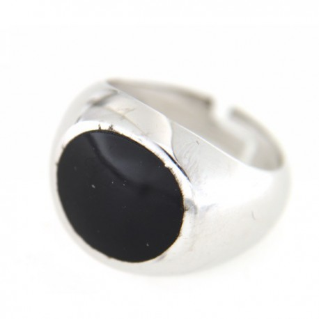 ANELLO IN ARGENTO ONICE